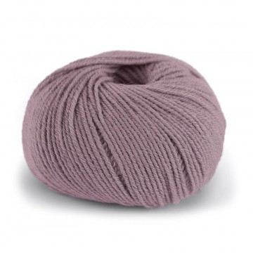 Pure Eco Wool Dus Grå Rosa 1214