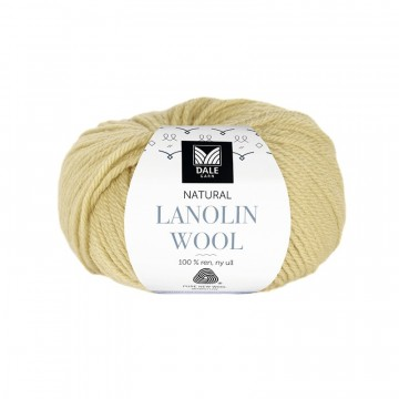 Natural Lanolin Wool 1409 Korngult