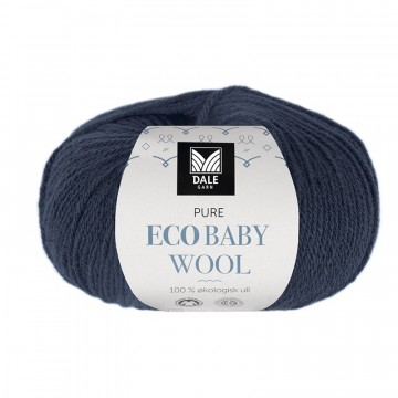 Pure Eco Baby Wool 1325 Marineblå