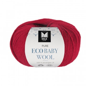 Pure Eco Baby Wool 1324 Klarrød