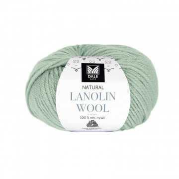 Natural Lanolin Wool 1413 Jadegrønn
