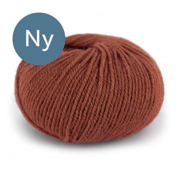 Pure Eco Wool Mørk Rust 1235