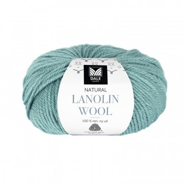 Natural Lanolin Wool 1424 Turkis