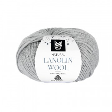 Natural Lanolin Wool 1402 Stålgrå