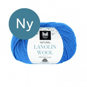 Natural Lanolin Wool 1443 Klar blå