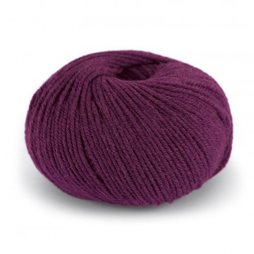 Pure Eco Wool Burgunder 1222
