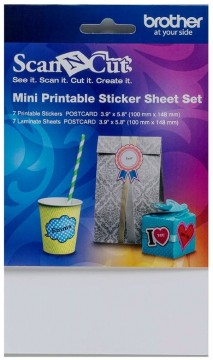 Mini Printable Sticker Sheet Set (2*7st)